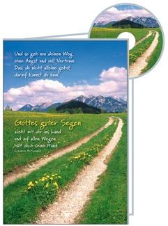CD-Card: Und so geh nun deinen Weg - Konfirmation