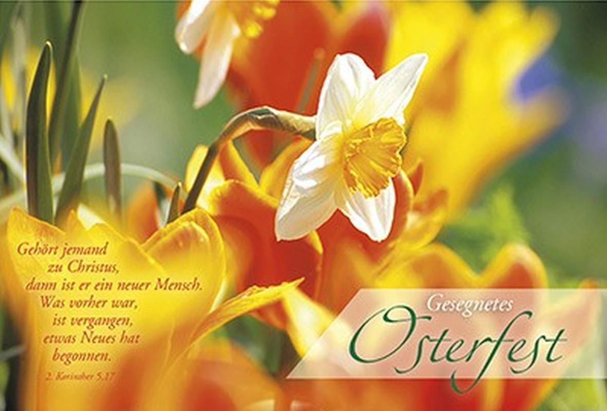 Faltkarte: Gesegnetes Osterfest