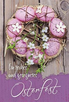 Faltkarte: Ein frohes und gesegnetes Osterfest