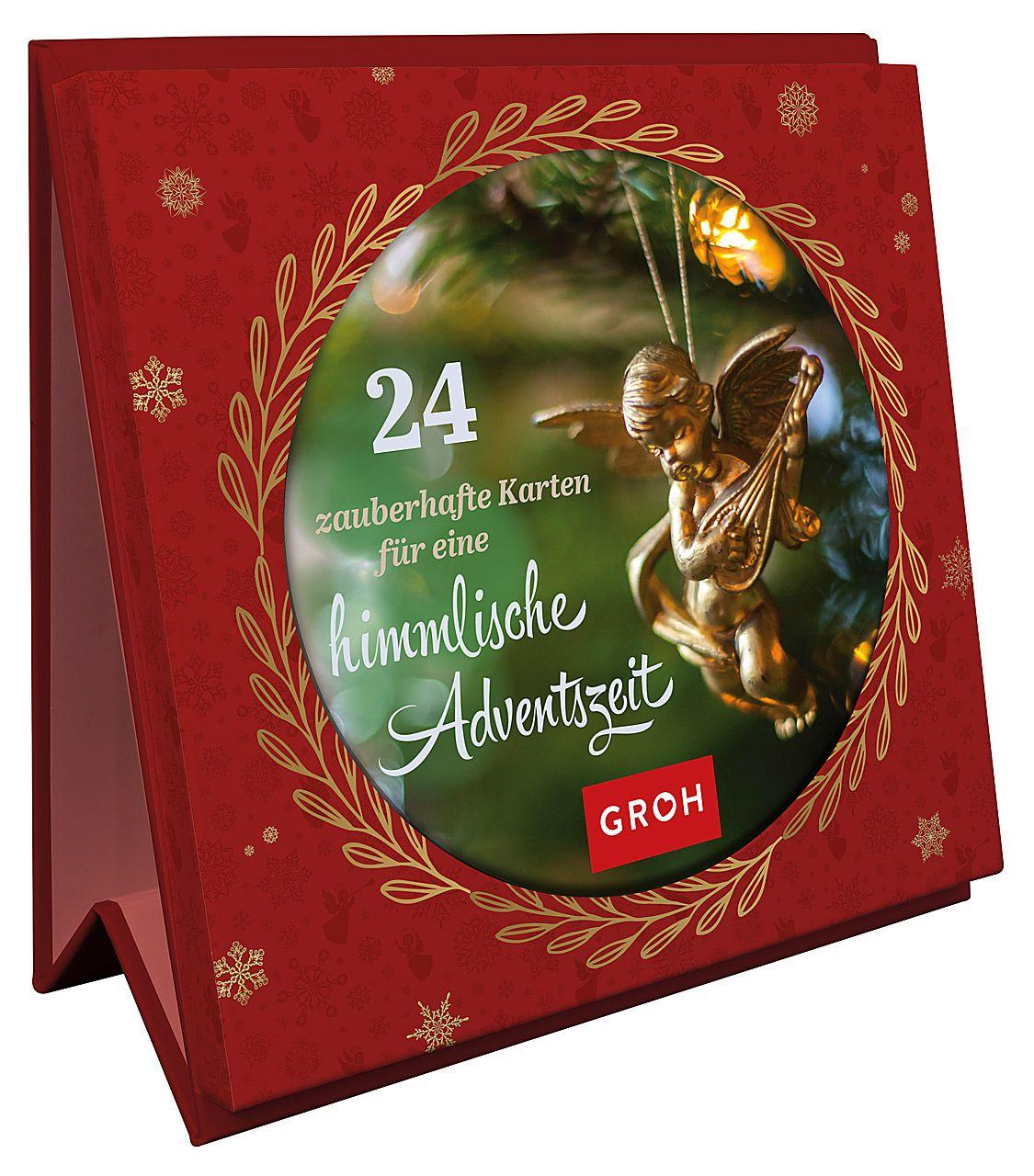 24 zauberhafte Karten für eine himmlische Adventszeit - Aufstellbuch