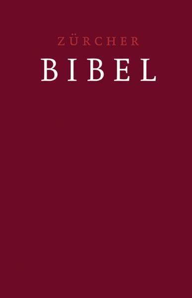 Neue Zürcher Bibel - Großdruckbibel