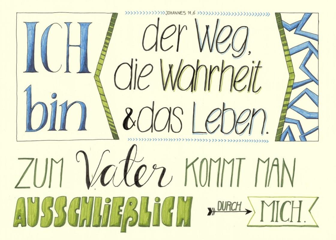"""Poster """"Der Weg, die Wahrheit"""" - A2"""