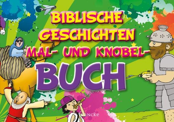Biblische Geschichten Mal- und Knobel- Buch