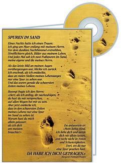CD-Card: Spuren im Sand - Trauer
