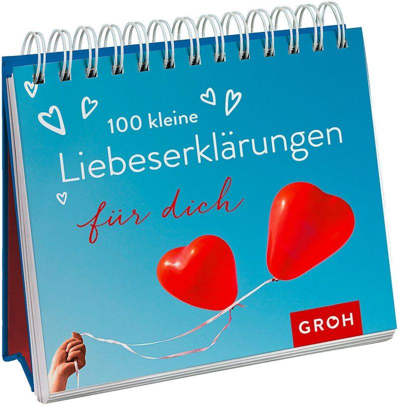 100 kleine Liebeserklärungen für dich - Aufstellbuch