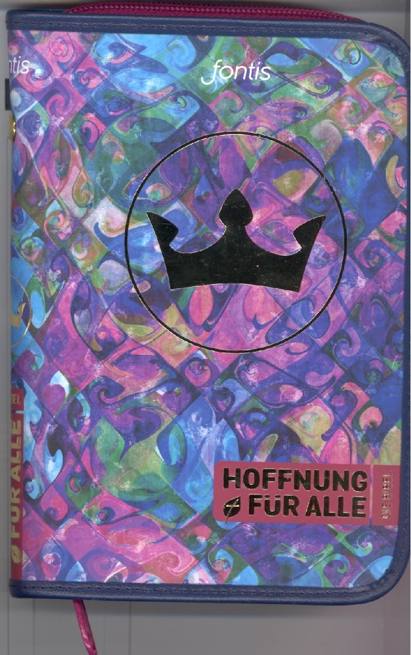 """Bibelhülle Hoffnung für alle """"Crown"""""""