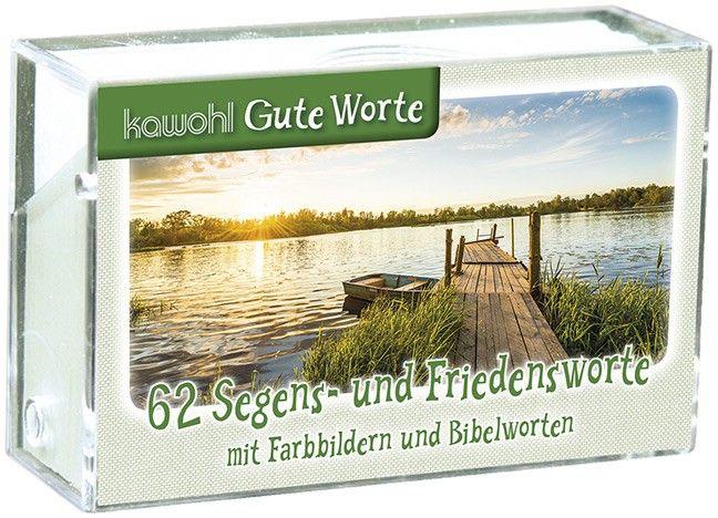 62 Segens- und Friedensworte - Karten