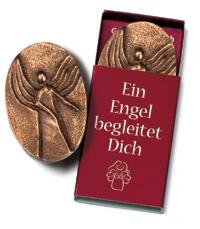 """Bronze-Engel """"Ein Engel begleite dich"""""""