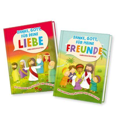 Buchset: Danke Gott - Bibelgeschichten