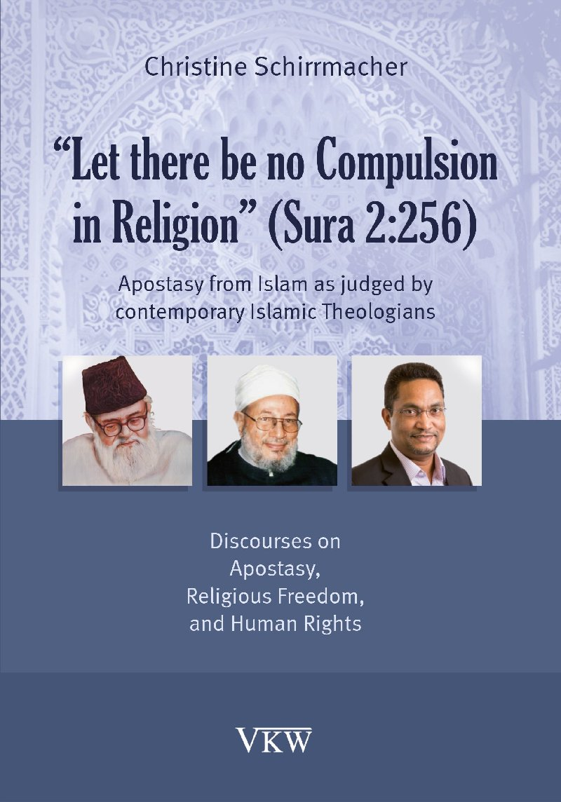 """Let there be no Compulsion in Religion"" (Sura 2:256)"