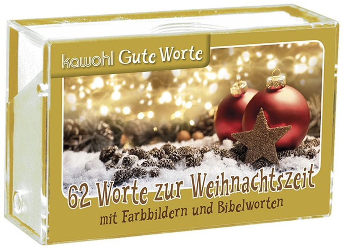 62 Worte zur Weihnachtszeit