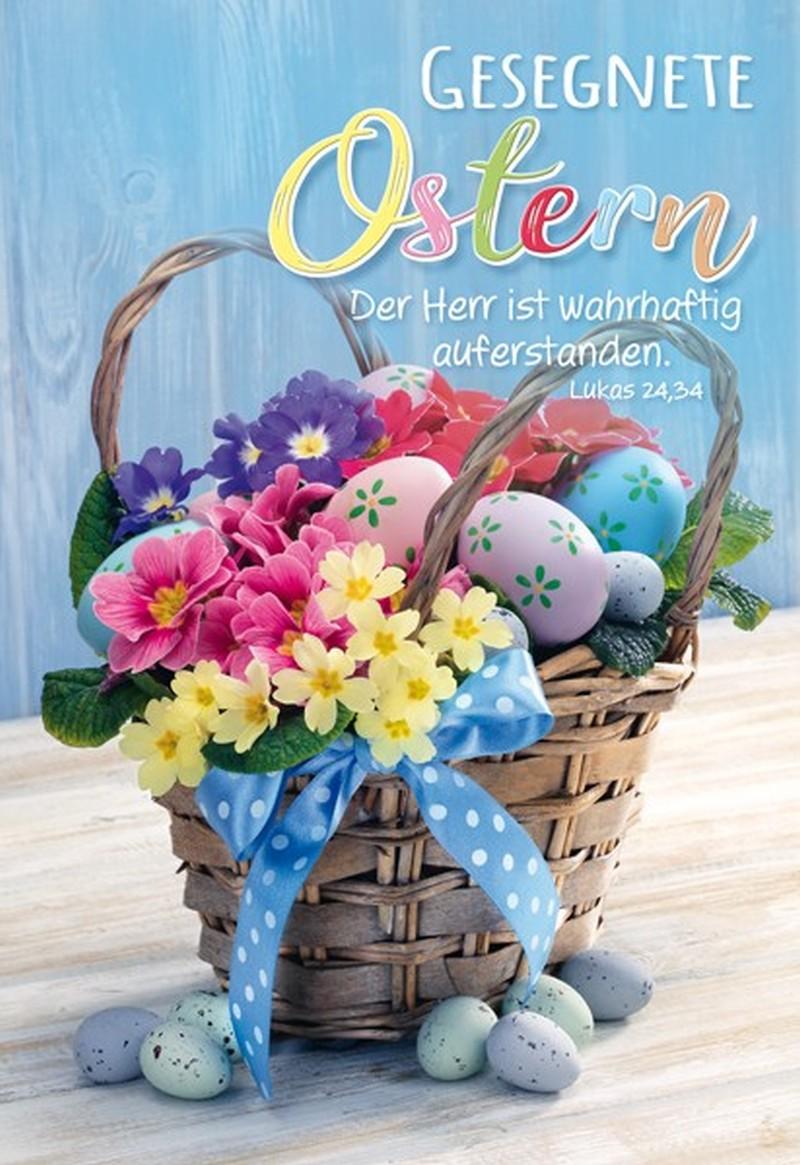 Faltkarte - Ostern Lk.24,34