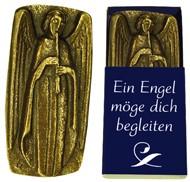 """Bronze-Engel """"Ein Engel möge dich begleiten"""""""