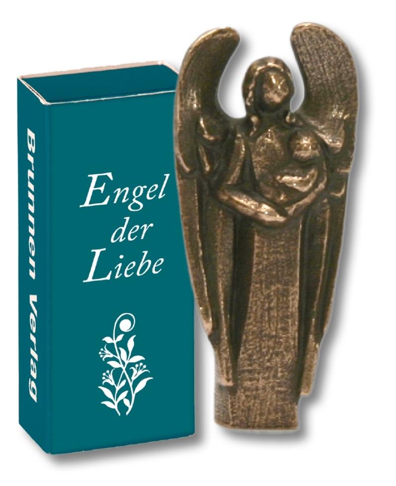 """Bronze-Engel """"Engel der Liebe"""""""