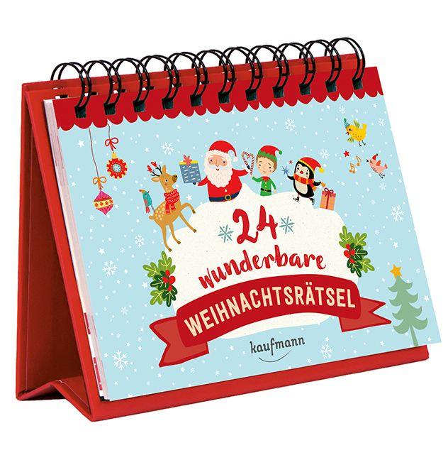24 wunderbare Weihnachtsrätsel - Adventskalender