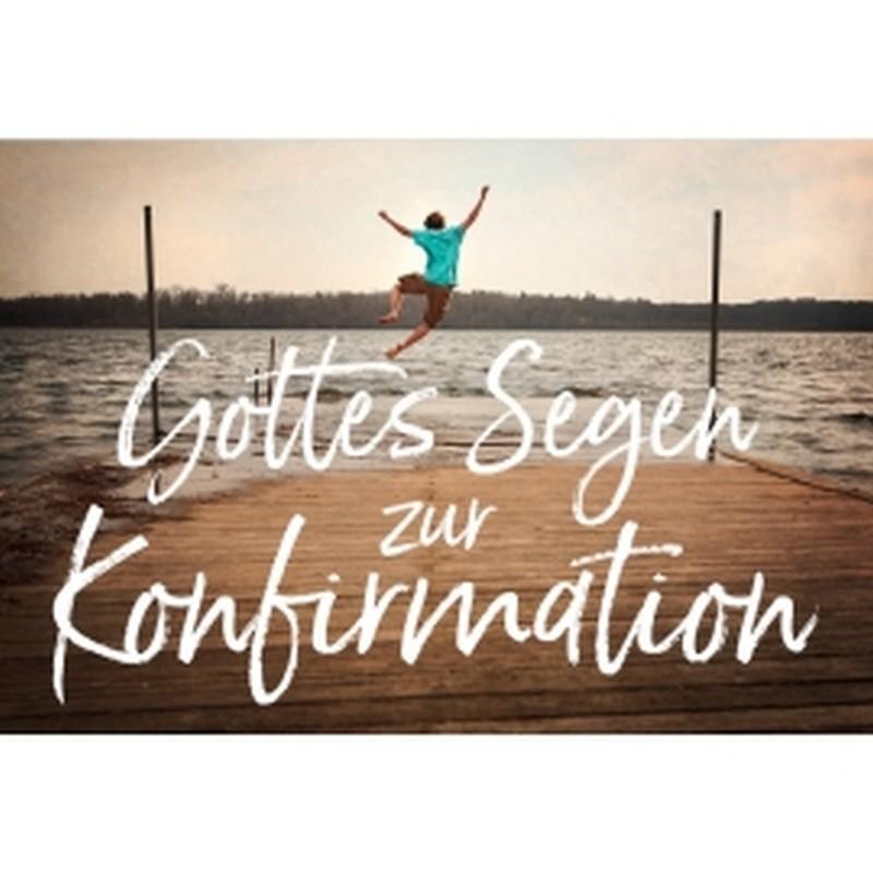 CD-Card: Gottes Segen zur Konfirmation - Motiv Steg