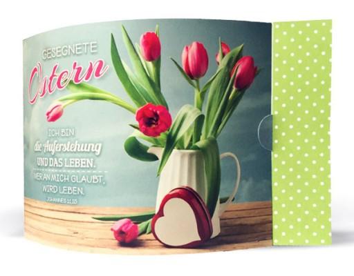 Aufstellkarte-Duo: Gesegnete Ostern