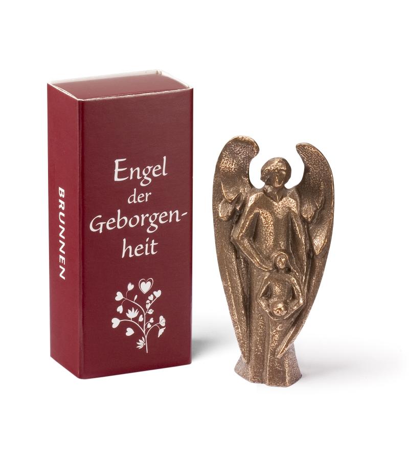 """Bronze-Engel """"Engel der Geborgenheit"""""""